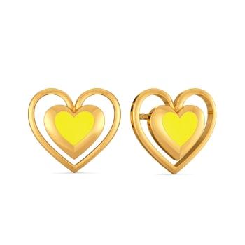 Love Brunch Gold Earrings
