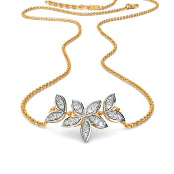 Happy Go Lily Diamond Necklaces
