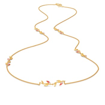 Lobster Claws Gold Necklaces
