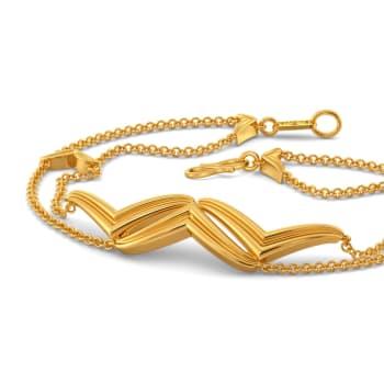 Drapes Urbane Gold Bracelets
