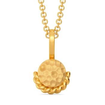 Oh So Boho Gold Pendants