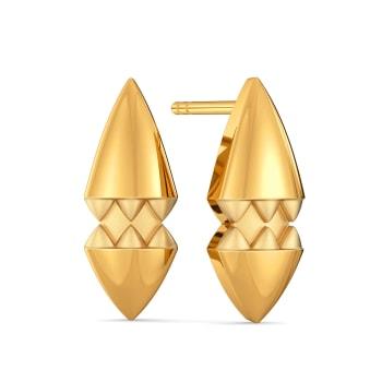 Boho Chic Gold Earrings