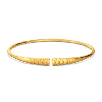 Vibe Tribe Gold Bangles