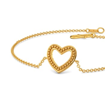 Club Love Gold Bracelets