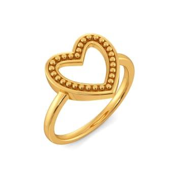 Club Love Gold Rings