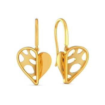 The Wild Side Gold Earrings