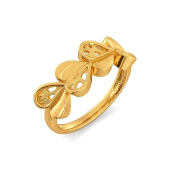 The Wild Side Gold Rings