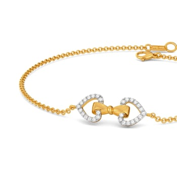Doting Bows Diamond Bracelets