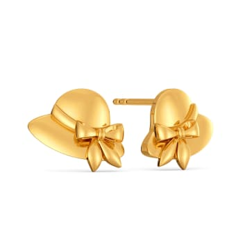 Hat Hitherto Gold Earrings