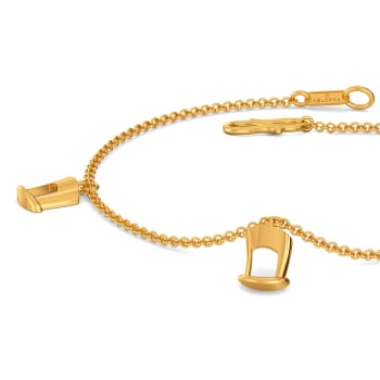 Hat to Happen Gold Bracelets