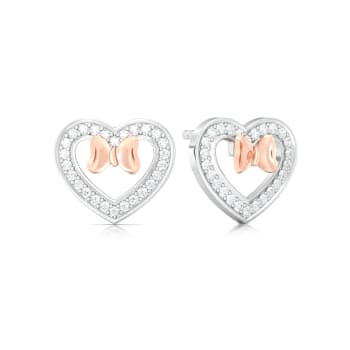 Plush-Blush Diamond Earrings