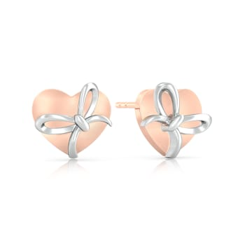Nots to Knots Gold Earrings