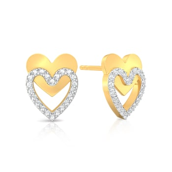 Twice as Nice Diamond Earrings