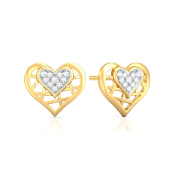 Tricky Tapestry Diamond Earrings