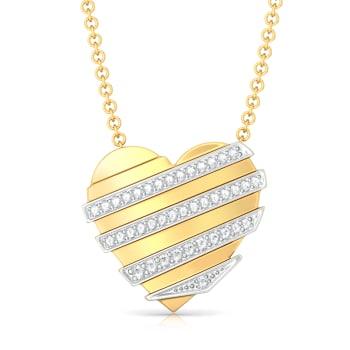 Cross my Heart Diamond Pendants