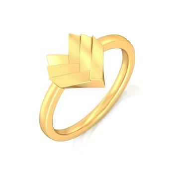 Saint Valentine Gold Rings