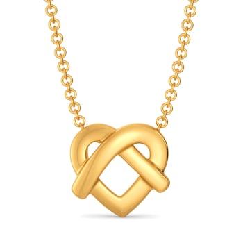 Knotty Affair Gold Pendants