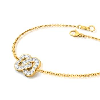 Two Hearts Diamond Bracelets