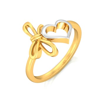My Valentine Gold Rings