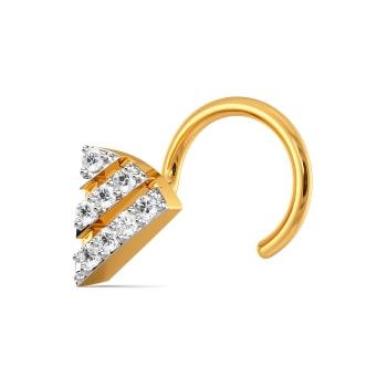 Layer It Down Diamond Nose Pins