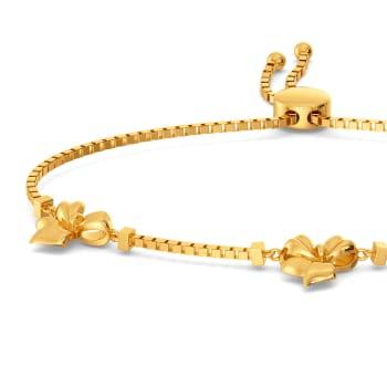 Back to Bows Gold Bracelets