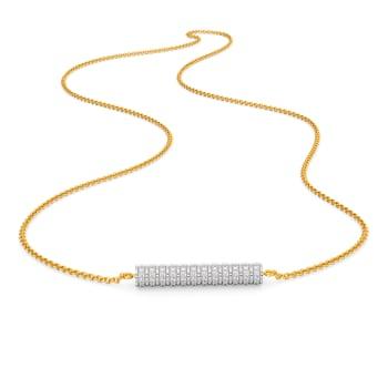 The Quad Nod Diamond Necklaces