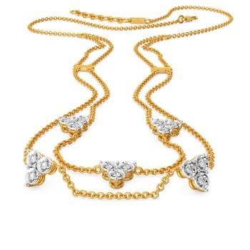 Glitzy Pop Diamond Necklaces
