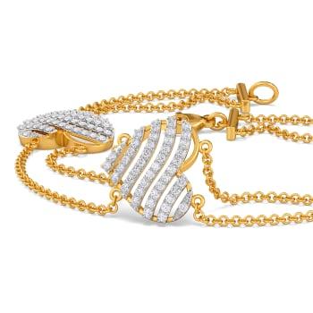 Elite Hearts Diamond Bracelets