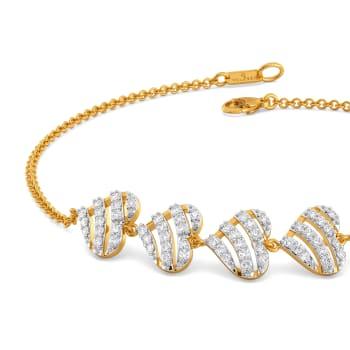 Heart O French Diamond Bracelets