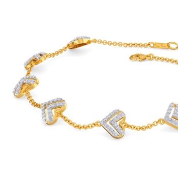 France N Romance Diamond Bracelets