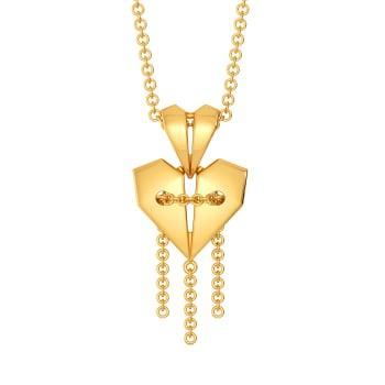 Love-struck Town Gold Pendants