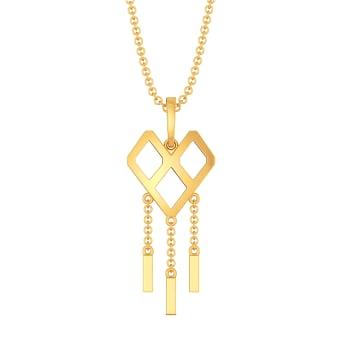 Fringe Crush Gold Pendants