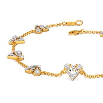 Pattern O Love Diamond Bracelets