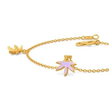 Lilac Licious Gold Bracelets