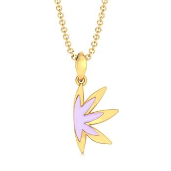 Lilac Licious Gold Pendants
