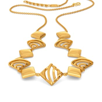 French Urbane Gold Necklaces