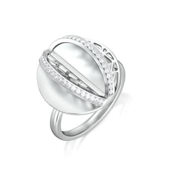 Lacy Effect Diamond Rings