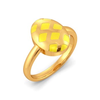 Humble Bumble Gold Rings