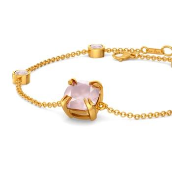Blush On Gemstone Bracelets