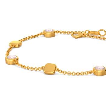 Pink Punchline Gemstone Bracelets