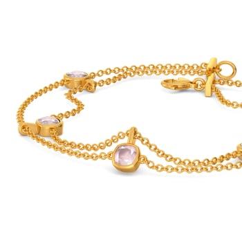 Colour Me Pink Gemstone Bracelets