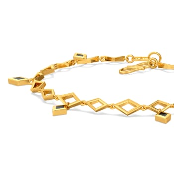 Trenched Out Gold Bracelets