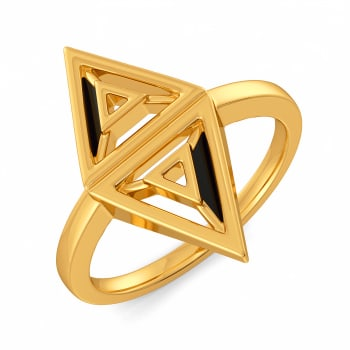 Trench to Toe Gold Rings