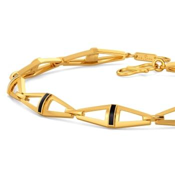 Spirit O Leather Gold Bracelets