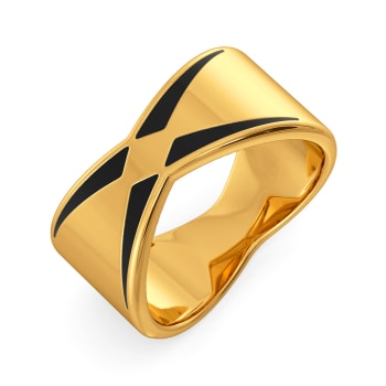 Total Blackout Gold Rings