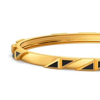 Fearless Fusion Gold Bangles