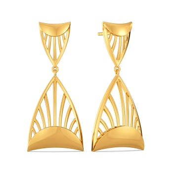 Tales of Theatrics Gold Earrings