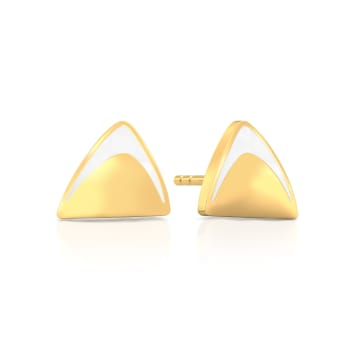 Modern Woman Gold Earrings