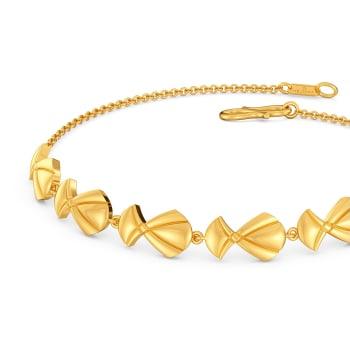 Chic Quilt Gold Bracelets