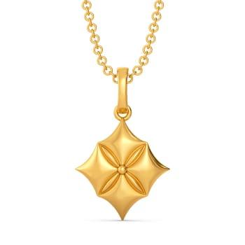 Quilt Queen Gold Pendants